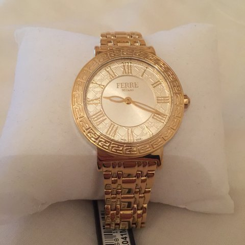62dd5f406e1 Selling this brand new Ferre Milano watch with tags Swiss - Depop