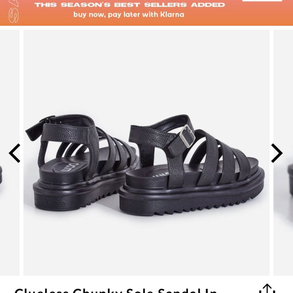 Ego shoes official clueless chunky sole