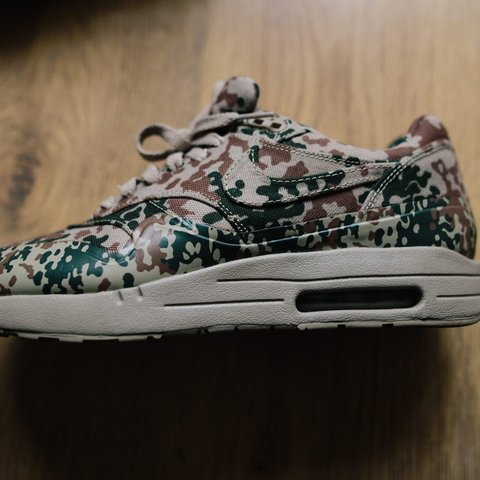 "quality design 69a53 989ef  cobiskicks. last month. Warrington, United Kingdom. Nike air max 1 ""German  camo"""