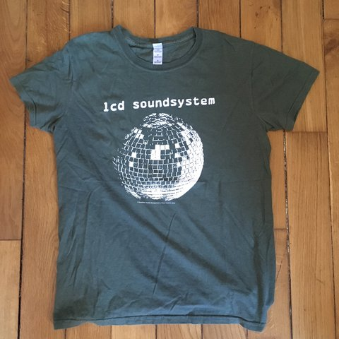 Vintage Lcd Soundsystem Disco Ball Tee This T Shirt Came Is Depop