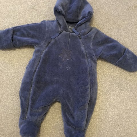 c19886c05 Newborn mamas and papas fur pram suit