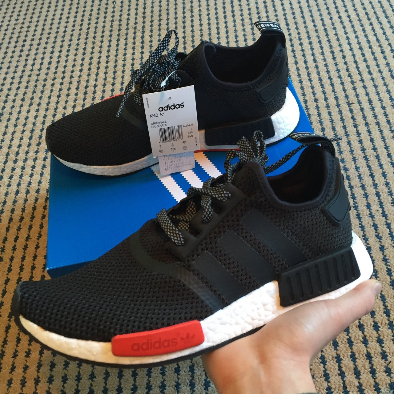 Adidas NMD R1 x Footlocker Exlusive. Copped them today in a - Depop 47155c1a4