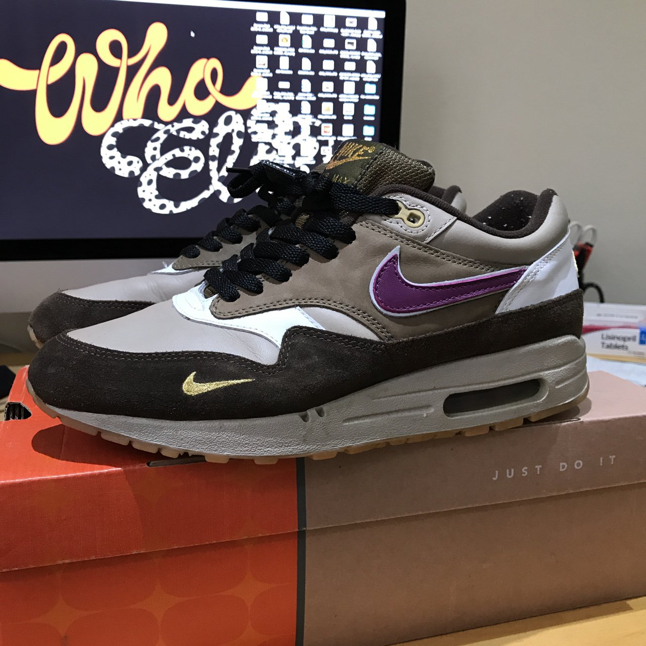 31842f770202c @elseywhoelse. 2 years ago. Huntingdon, United Kingdom. Nike Air Max 1 B  Atmos Viotech ...
