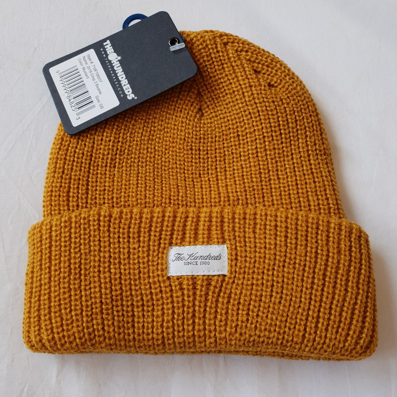 38e4387779b The Hundreds Crisp Beanie Brand New With Tags In Mustard - - Depop