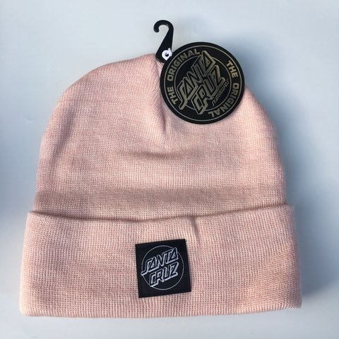 97cfde46830784 Santa Cruz Outline Dot Logo Beanie. Brand new with #beanie - Depop