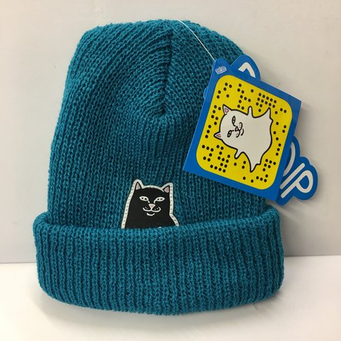 11ad77576f38d0 RIPNDIP Lord Nermal Beanie. Brand new with tags. #nermal - Depop