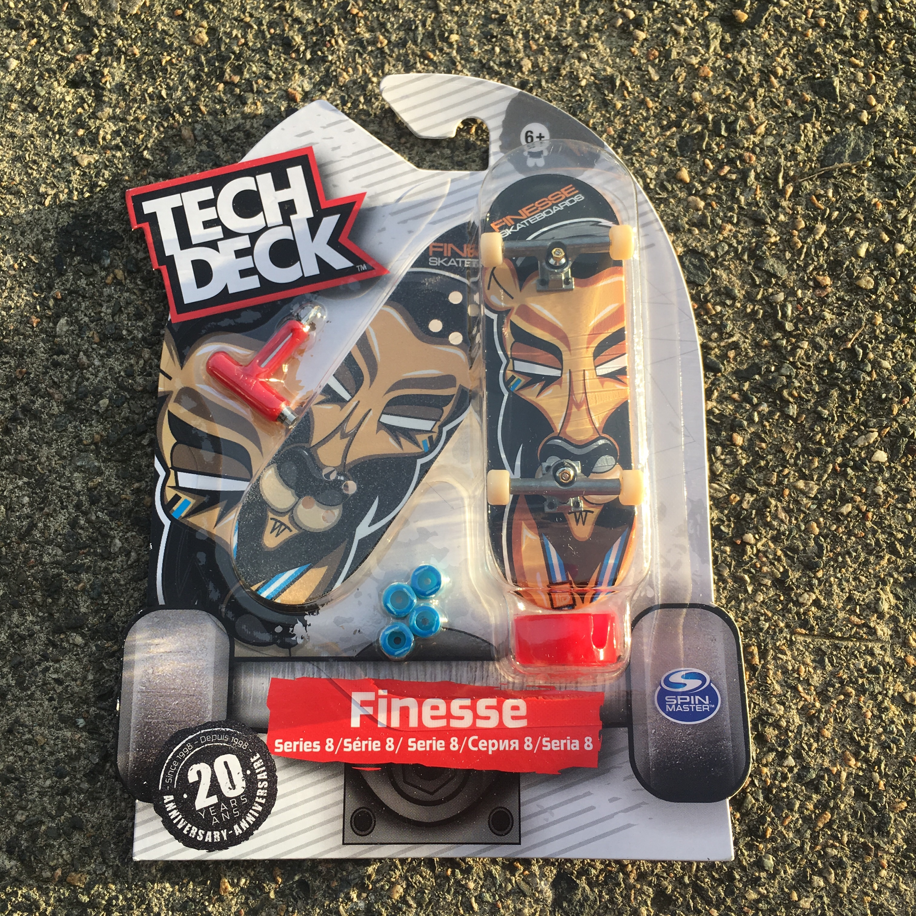 Tech Deck Series 8 Finger Skateboard  Finesse 32mm    - Depop