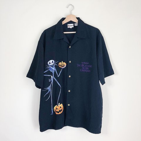 342bc9faf 🎃Vintage 90s / early 2000s Nightmare Before Christmas up in - Depop