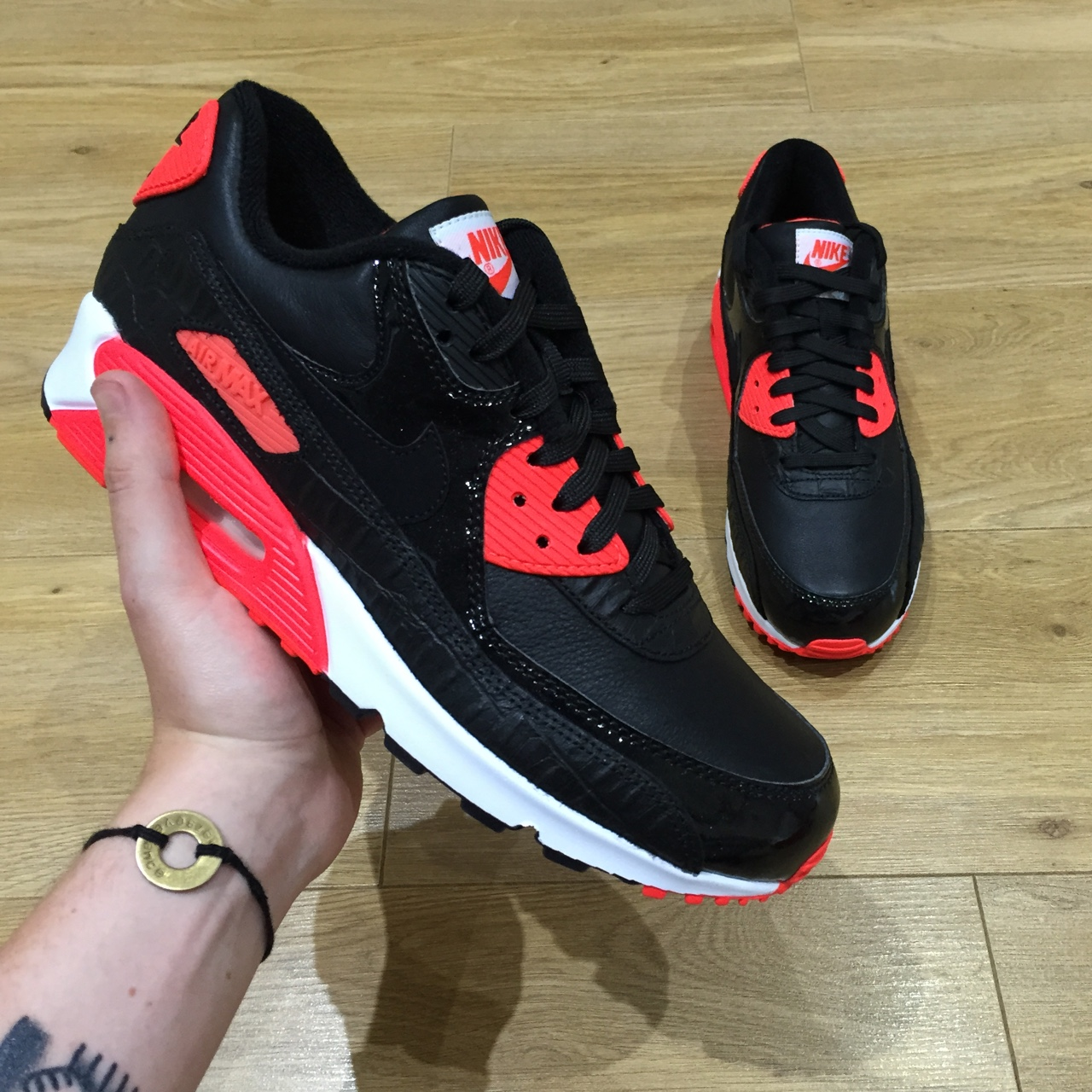 the best attitude 65a9c a4b8b  conorallen. 4 years ago. Crawley, West Sussex, UK. Nike Air Max 90  Infrared Croc ...