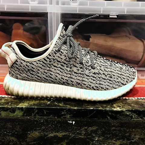 928821ce903b7 Adidas Yeezy Boost 350 Turtle Dove Size 8 condition  8 10 No - Depop
