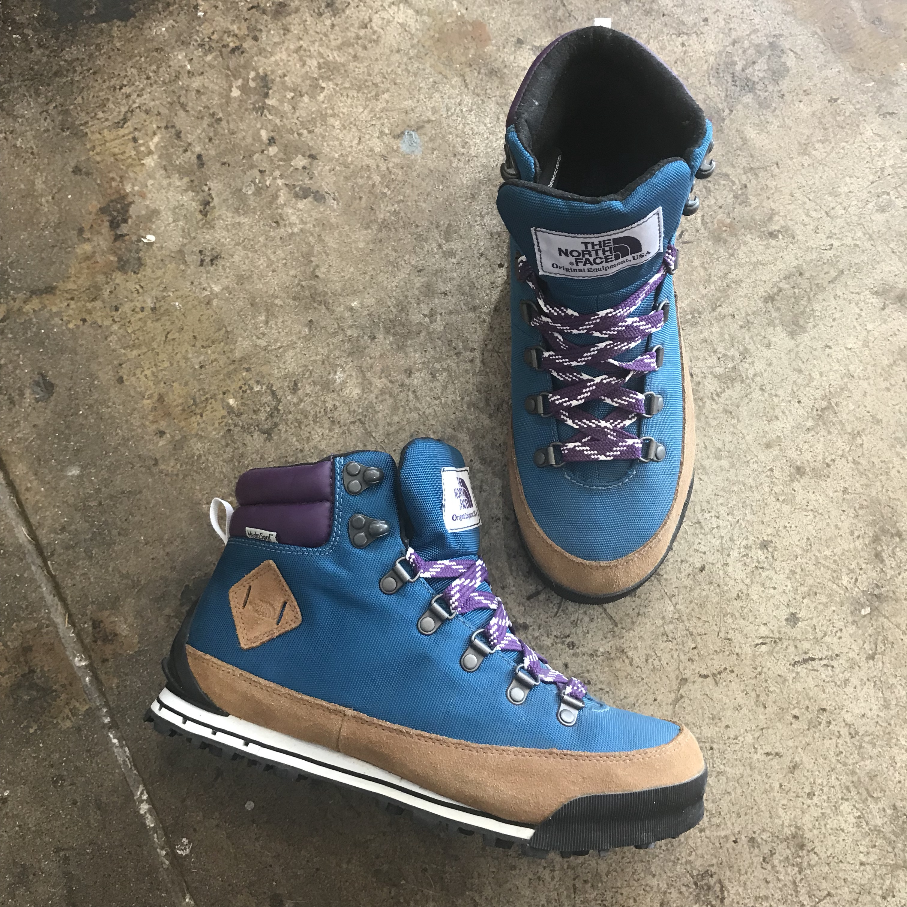 The North Face Purple Label trail boots