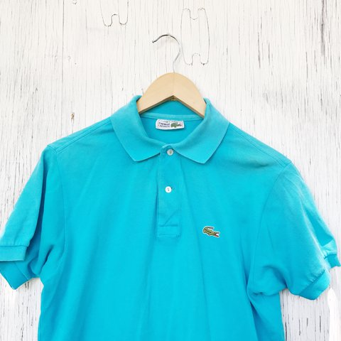 eadb2310bd04 Vintage 70 s made in France Chemise Lacoste polo shirt