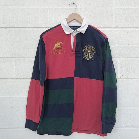 1c15adcfdf5 @rawdeals. 2 years ago. United States. Vintage Polo Ralph Lauren rugby shirt  ...