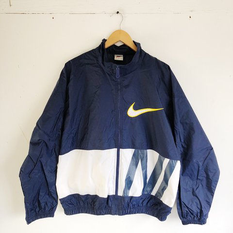 Vintage 90 s Nike zip up windbreaker jacket 200d756f7