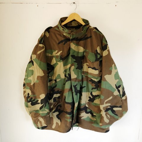 e13e1b8033d19 @rawdeals. 8 months ago. Lansing, United States. Vintage men's camouflage  m65 jacket, heavy duty army ...