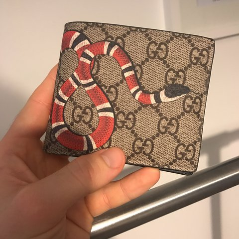 ae4002a2080f @egbeacham. last year. Swindon, United Kingdom. Original Gucci Snake Wallet