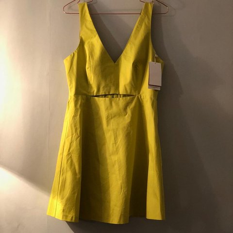 e563f32c @barbielocksx. 7 months ago. Stoke-on-Trent, United Kingdom. BRAND NEW. ZARA.  Lime green dress. Size ...
