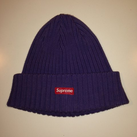 60f667540faec Supreme beanie hat purple bought from London preme store - Depop