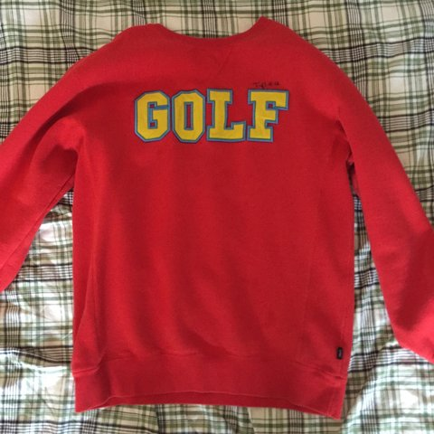 fa383f47ef7739 Golf sweatshirt purchased in golf wang store in L.A signed a - Depop