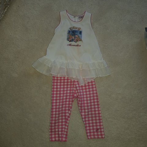 690ae45eee14 Immaculate Monnalisa baby girls outfit.. stunning outfit and - Depop