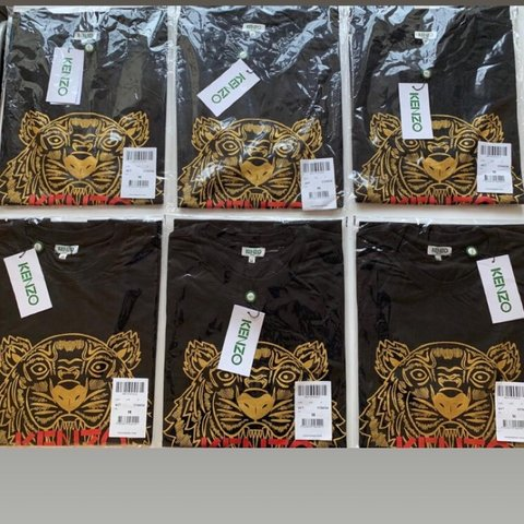 56b30ca0 @enzpo. 27 days ago. Barnoldswick, United Kingdom. Brand new limited  edition Black/Red and gold Kenzo tiger t-shirts ...