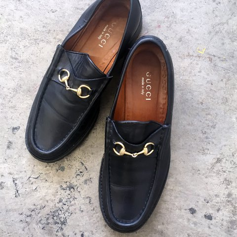 0bf5ca1d3 Vintage Gucci loafers size 9 / 9.5! In great shape no major - Depop
