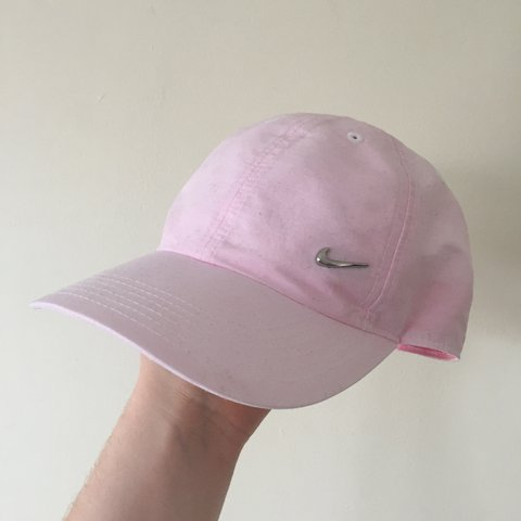 38536f4d Baby pink Nike cap. Worn a couple times. Price includes U.K. - Depop
