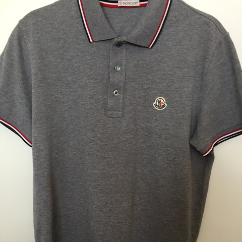 51a24b8c @camlucey. 2 years ago. Hockley SS5, UK. Genuine Men's Moncler short sleeved  polo shirt in size M. ...