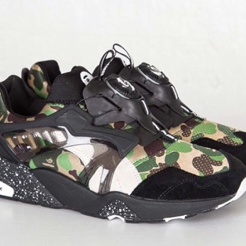 507b84c978588 @bcrep. 3 years ago. London, UK. PUMA Disc Blaze x Bape ...