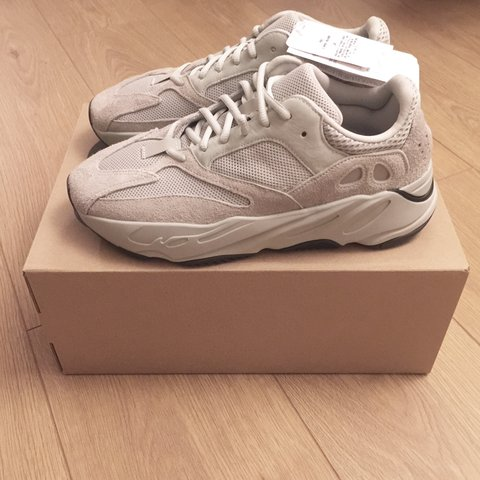 756f79050 ADIDAS YEEZY 700 SALT SIZE UK8.5 BRAND NEW FROM HANON SEE IN - Depop