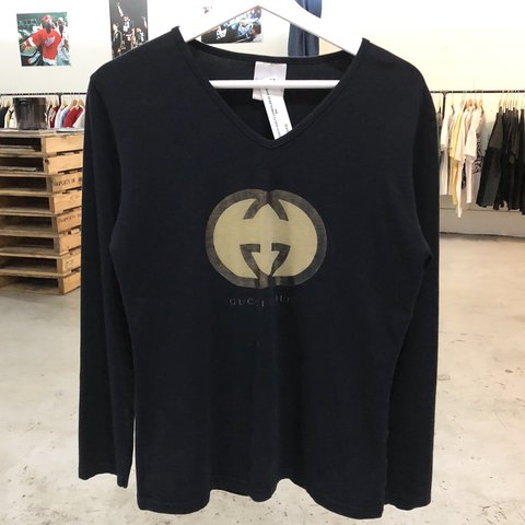 c5664743 @drobe. last year. Houston, United States. Gucci Guilty perfume Long sleeve  Shirt