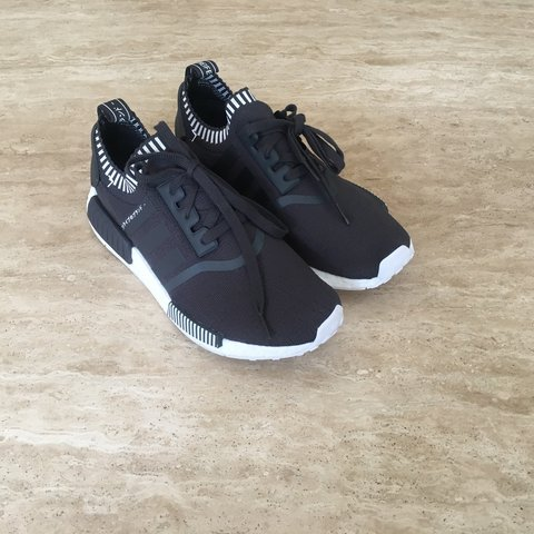 5100b798f Adidas NMD R1 Runner PK Grey Japan Boost. Brand New With OG - Depop