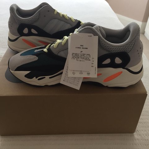 7142260b0d4 Yeezy Boost 700 Multi solid grey   chalk white   core black - Depop