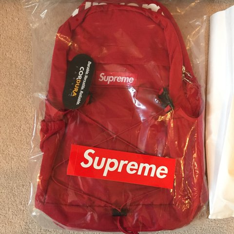 Supreme Backpack Red 0