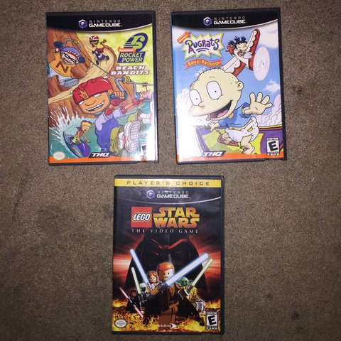 Used Gamecube Lego Star Wars Rugrats Royal Ransom And 5 Depop