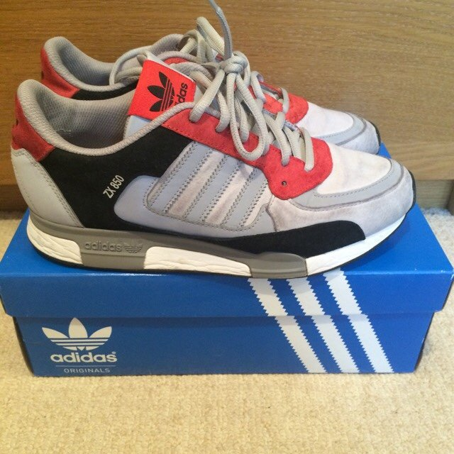 0a850ed2c1cf4 Adidas ZX 850 - good condition - UK size 7 - ignore  adidas - Depop