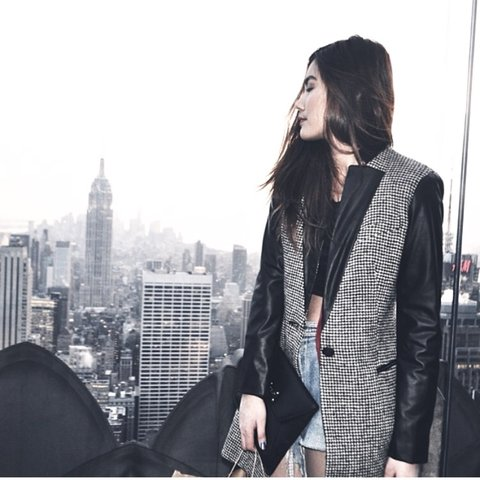 c287ebaf77 @mooka_takao. 3 years ago. Chicago, United States. Black Zara coat #zara# coat#outerwear#sale #coats#leather