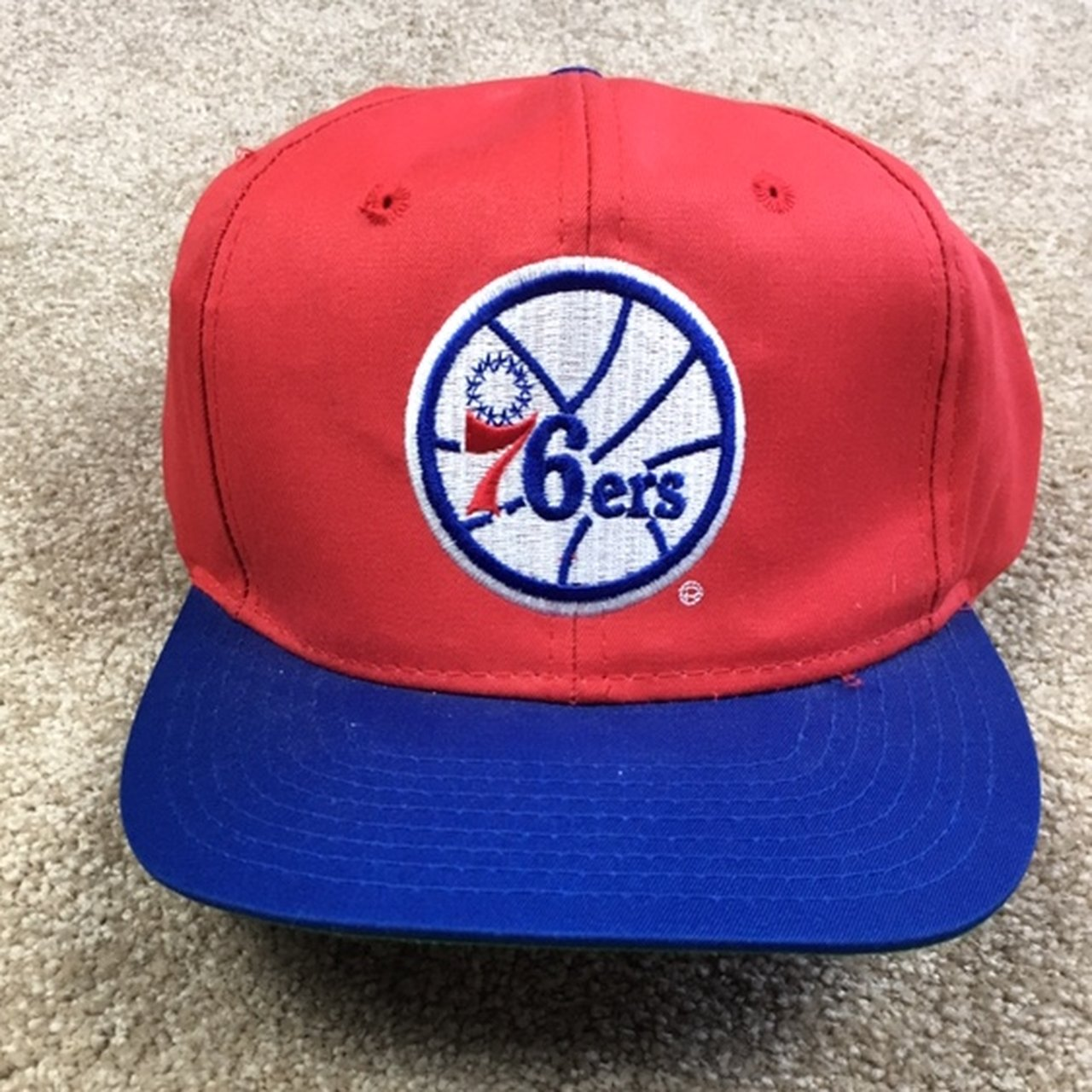 a4663b64b 90 s Houston oilers snapback hat adult sized    new insert - Depop