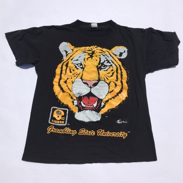 new product 4173a 10991 90's grambling state university tigers louisiana... - Depop