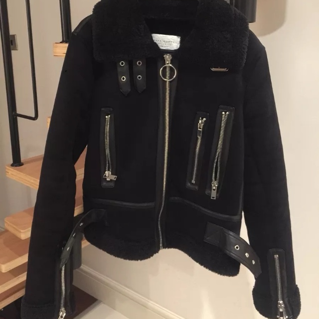new arrive latest style nice cheap Zara aviator jacket like the one seen on Daisy o... - Depop