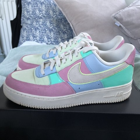 5eec57f3efa RARE LIMITED EDITION NIKE AIR FORCE 1 EASTER ✨Size UK off - Depop