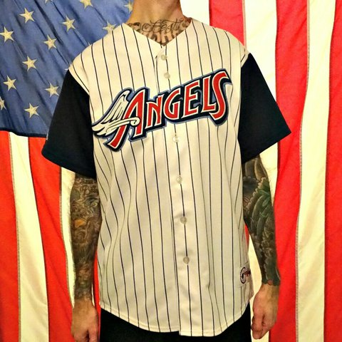 9419f8ee0f6 California Angels of Anaheim baseball Jersey by majestic. - Depop