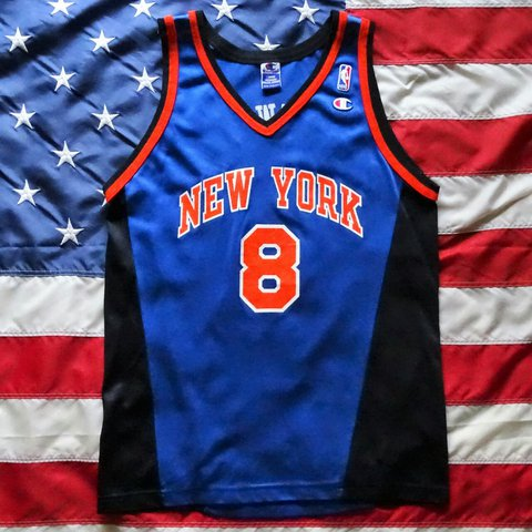 on sale 81d3a c759f coupon for vintage new york knicks jersey 45821 0bb3d