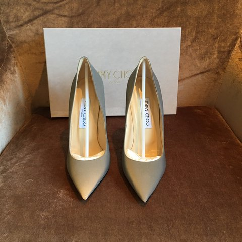 a76ba53b670 Beautiful jimmy choo anouk heels size 4 37. Unworn and brand - Depop