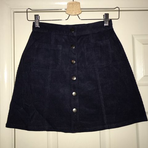 3dc3b9ee88 @hotwaxshop. 7 months ago. London, United Kingdom. Urban outfitters cooperative  corduroy cord aline shift mini skirt with ...