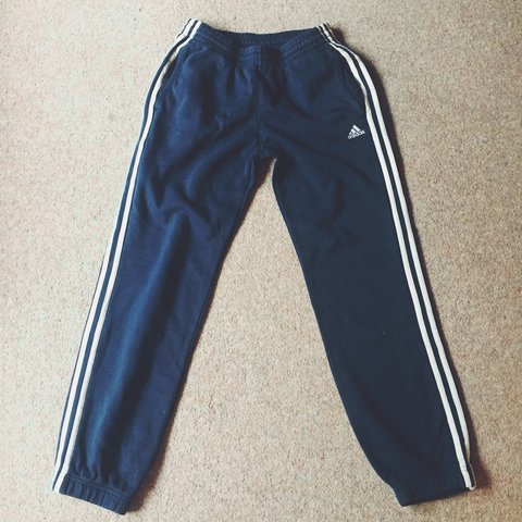a472a534dcd @hi_sophie. 3 years ago. Surrey, UK. Adidas tracksuit bottoms in navy blue  ...