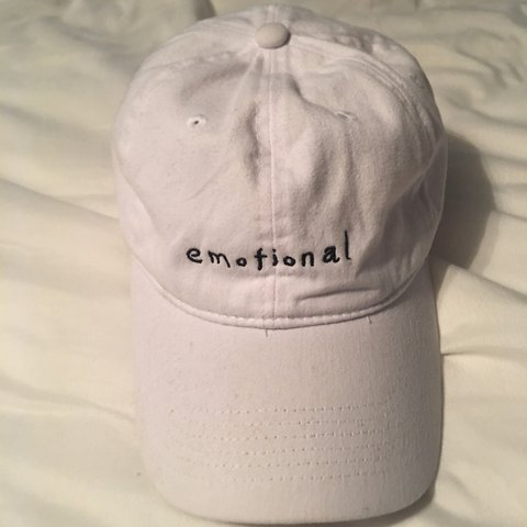 9b0e7f9089d1d Emotional hat fits all sizes in 9 10 good condition will go - Depop
