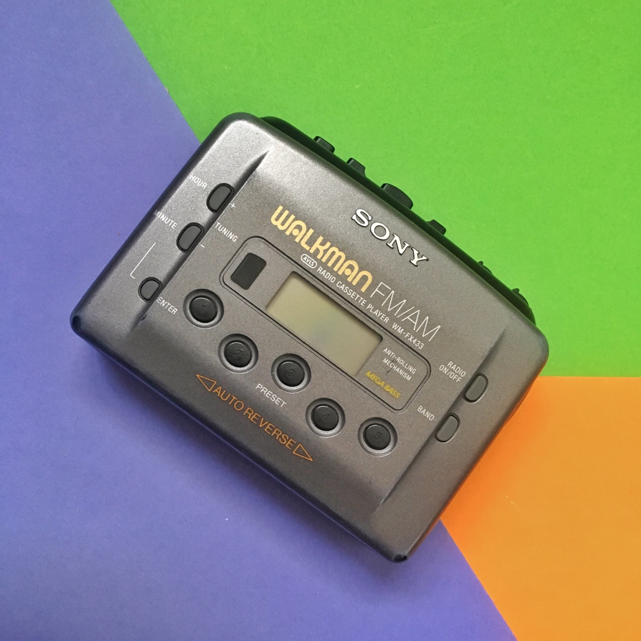 Vintage Sony Walkman cassette tape player  Bang in    - Depop