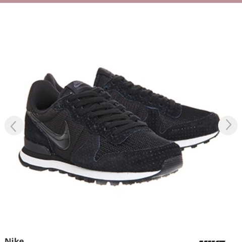 41174c4c4b68 Nike Internationalist Black Dark Grey trainers. Only worn in - Depop