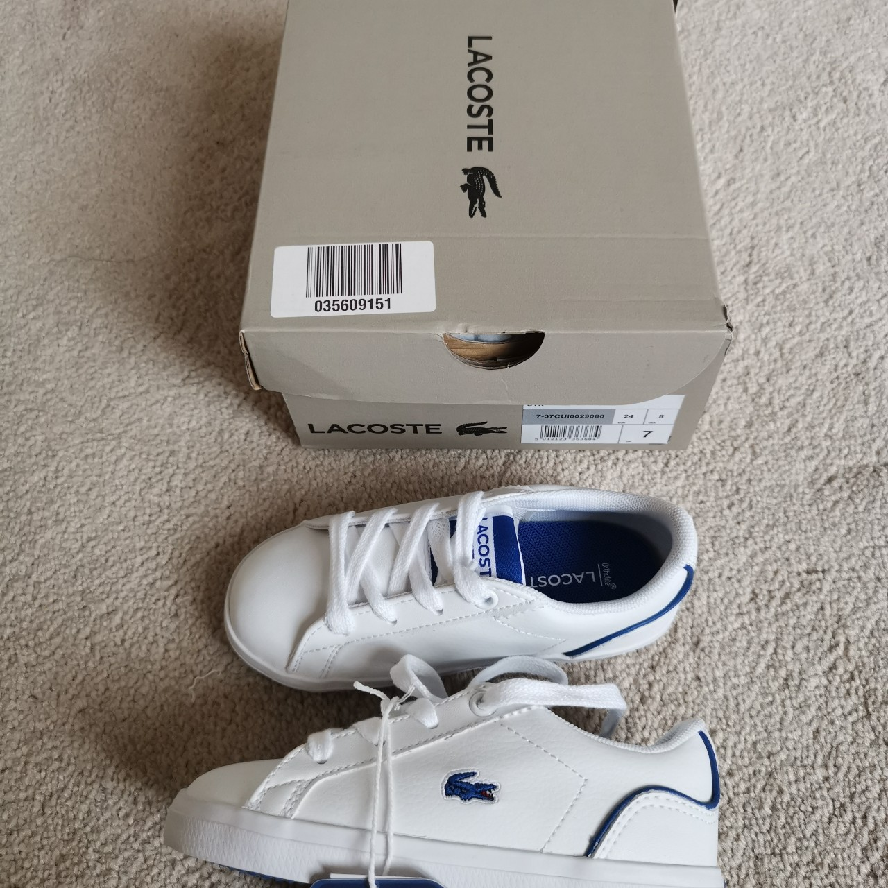 infants size 7 trainers